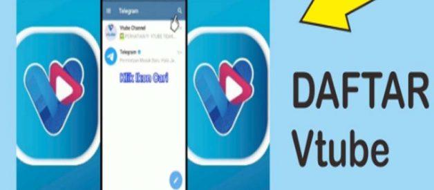 Cara Daftar Vtube Di Aplikasi Telegram