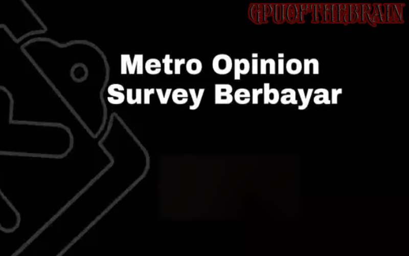 MetroOpinion Survey, Situs Survey Berbayar? Cek Disini
