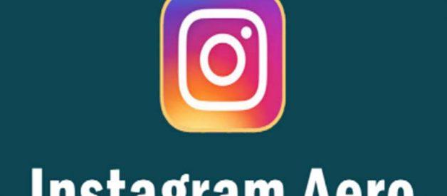 Cara Pasang Instagram Aero Apk