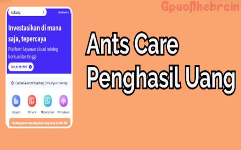 Download Ants Care Apk Penghasil Uang Terbaru 2021