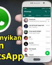 2 Cara Menyembunyikan Pesan Masuk WhatsApp Di Android