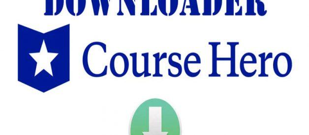Download Course Hero Downloader