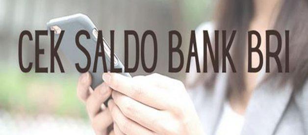 Cara Cek Saldo BRI Melalui SMS Banking Dan Mesin ATM
