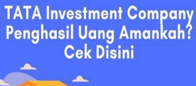 TATA Investment Company Apk Penghasil Uang Benarkah Aman?