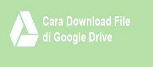 Cara Download File Gambar Langsung Ke Google Drive Di android