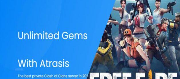 Download Atrasis FF Diamond Unlimited Asli Gratis 2021