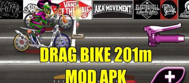 Download Game Drag Bike 201m Mod Apk Di Android